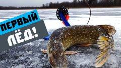 Рыбалка на жерлицы. Ловля щуки по первому льду.
