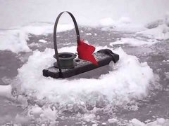 Зимняя рыбалка. Ловля щуки
