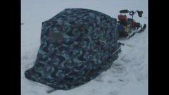 Зимняя палатка с «мотором»… Своими руками…