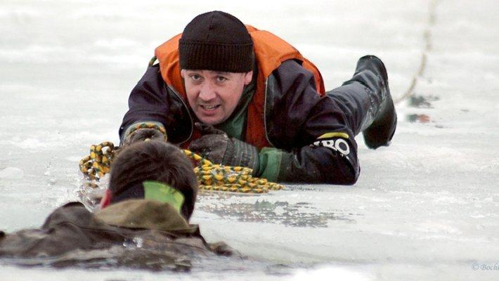 Профилактическая акция «Безопасный лёд»: проинструктировано порядка 6000 человек