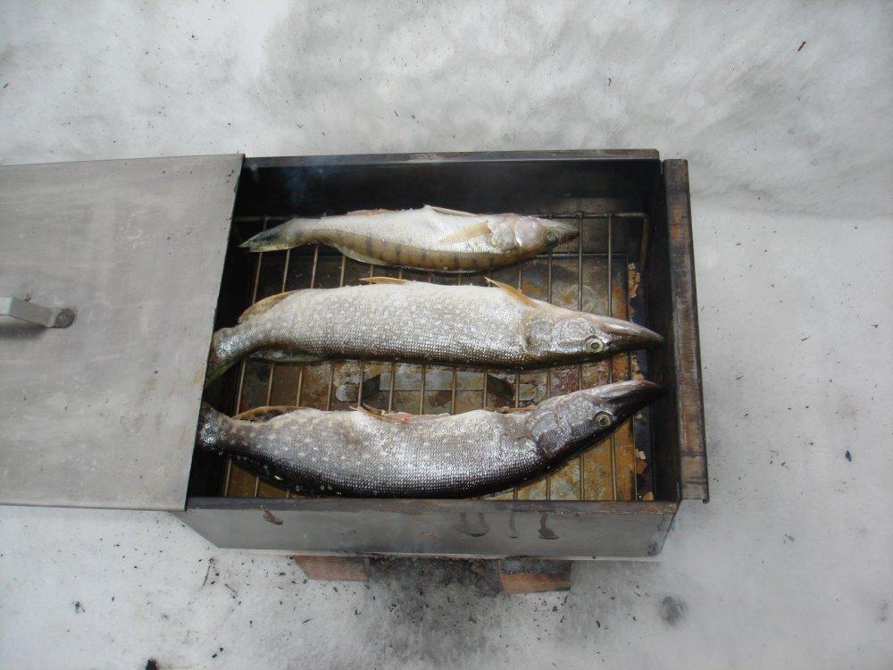 пора и улов готовить