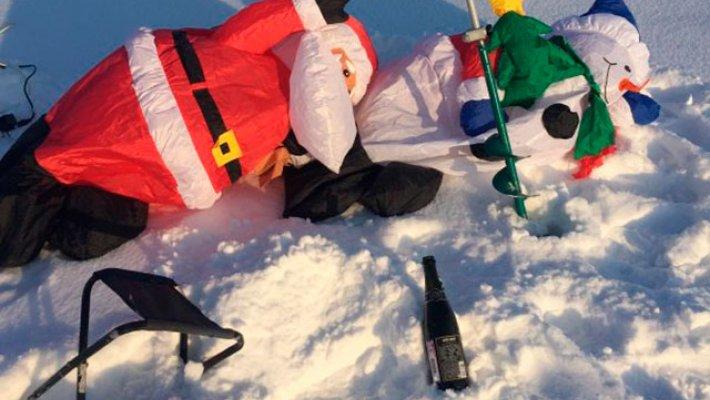 Удачное начало 2019 на льду. Рождественские рыболовные истории