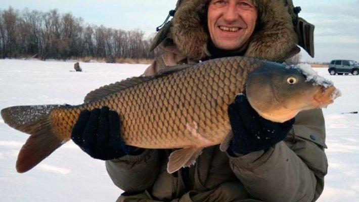 Рыбалка в середине января на водоемах Новосибирской области