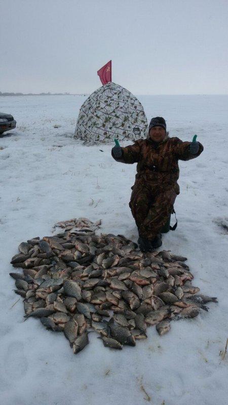Первый опыт в зимней рыбалки