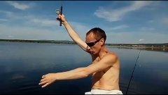 Ловим окуня! Озеро Арахлей!
