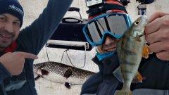 Мормышка против жерлицы. Зимняя рыбалка на Вуоксе.