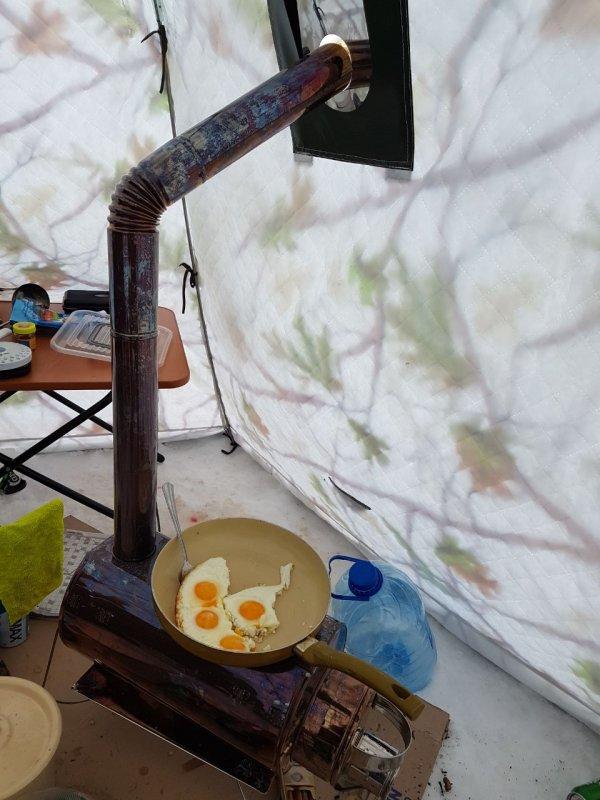 Палатка с печуркой это тема