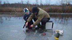 Впервые с дедом на рыбалку. Душевное видео с советами для внука