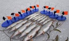 Зимняя рыбалка на WD 40. Миф или реальность? Эксперимент: щука+жерлица