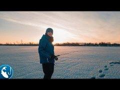 Зимняя рыбалка с сыном на жерлицы. Первая щука на балансир.