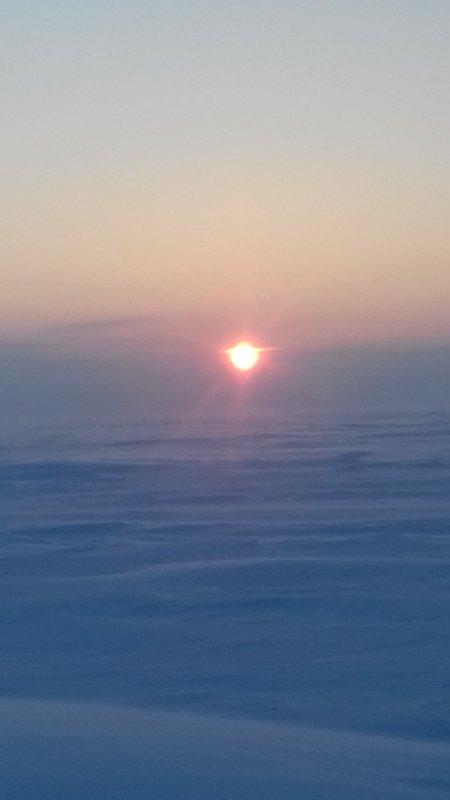 Восход над 31-м .