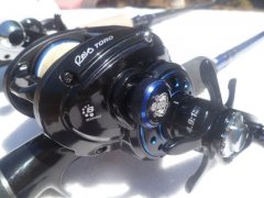 Abu Garcia Revo Toro Beast 2 and Tenryu Injection 66 XH with Westin shad teez 22cm slim