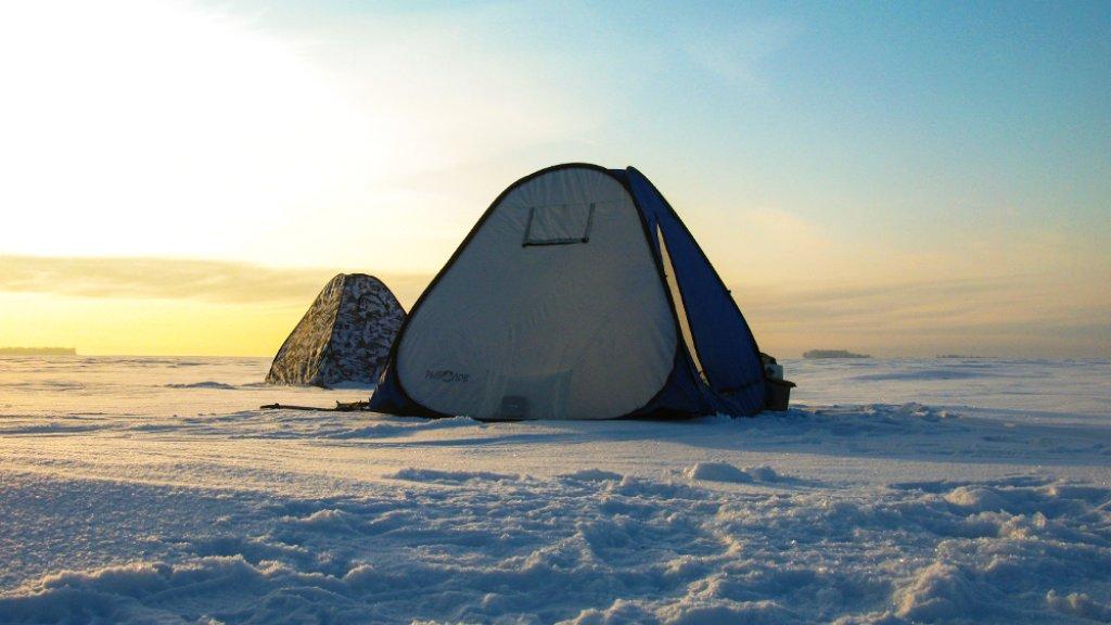 Зимняя палатка автомат. Впечатления после сезона эксплуатации