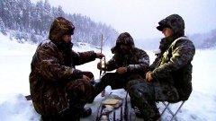 Втроем в снегопад! / ночевка в палатке / жерлицы  / семейная рыбалка / наедине с тайгой
