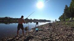 Рыбалка с ночёвкой. Ловля леща на фидер. Река вятка.