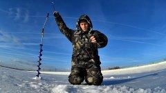 Зимняя рыбалка на окуней. Поиск и ловля