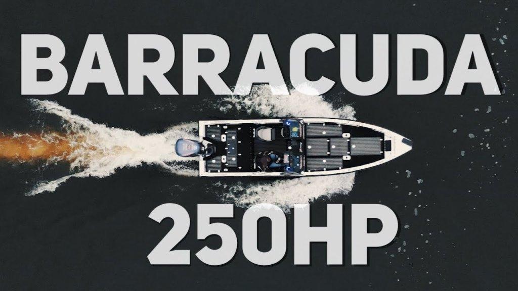 """Лодка """"БРАКОНЬЕРОВ"""" для спортивной рыбалки?!   Обзор лодки """"Барракуда"""" с мотором ямаха 250 л.с"""