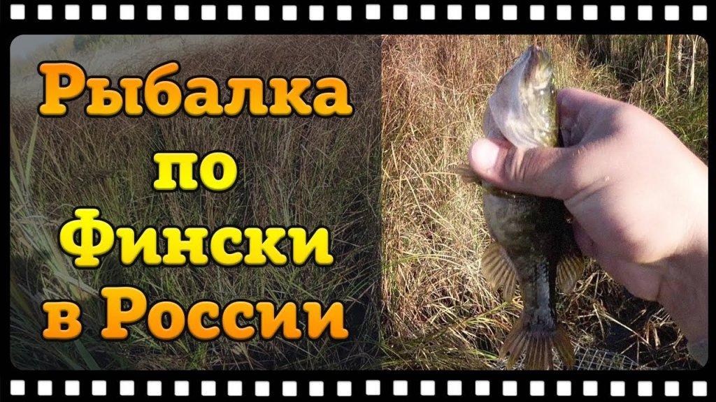 Рыбалка по Фински в России. Хотел обрыбиться, а получилось только рыбу на кормить.