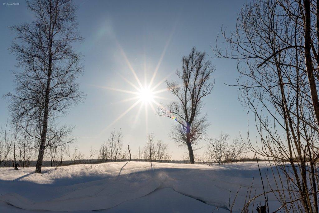Зимний уют маленьких речек.