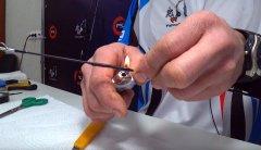 Как заменить и примотать кольцо на спиннинге? Пошаговая видео инструкция