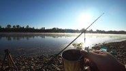 Рыбалка с ночёвкой. Готовим уху на костре. Солим рыбу. Река вятка.