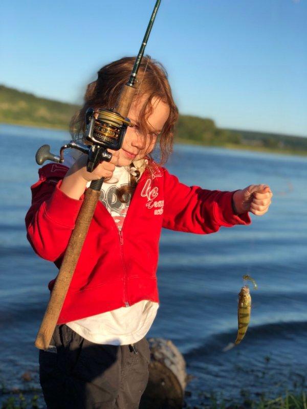 Юный ловец