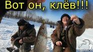 Зимняя рыбалка 2019 год. Активный клев рыбы. Мотособака Пахус (Paxus).