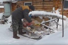 Зимовье в Якутии. Полевая кухня. Хранение и приготовление замороженных яиц