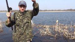 Рыбалка на поплавок весной.