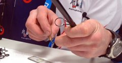 Как вклеить керамическую вставку кольца спиннинга своими руками