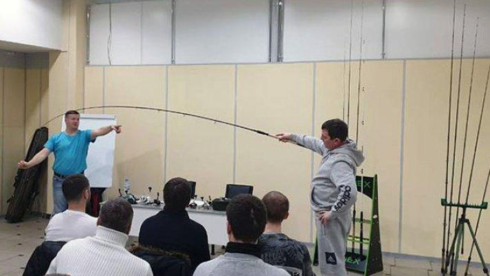 Учимся рыбалке на фидер. Третий семинар