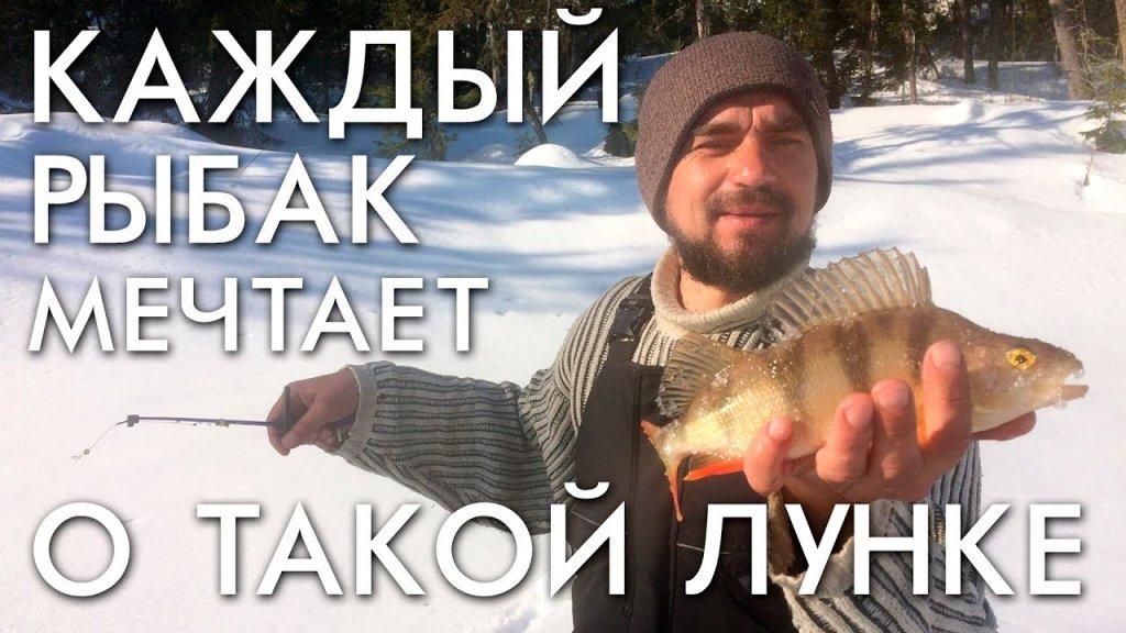 Заветная лунка рыбака