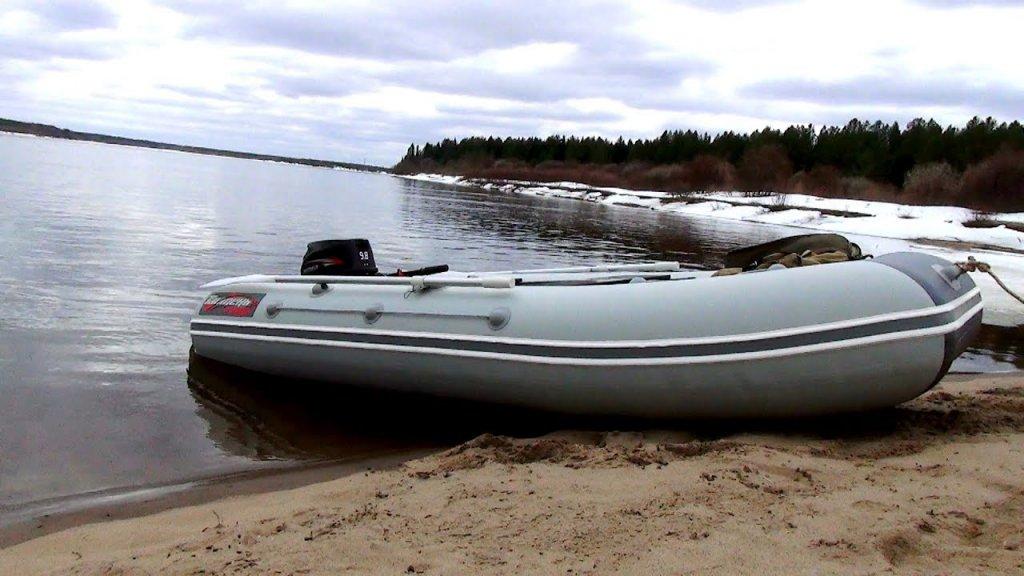 Первый выход на воду / много утки! / обкатка мотора hidea 9,8+таймень 340 нднд / наедине с тайгой