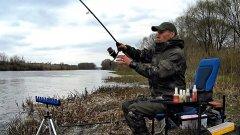 Весенняя рыбалка Фидер на реке