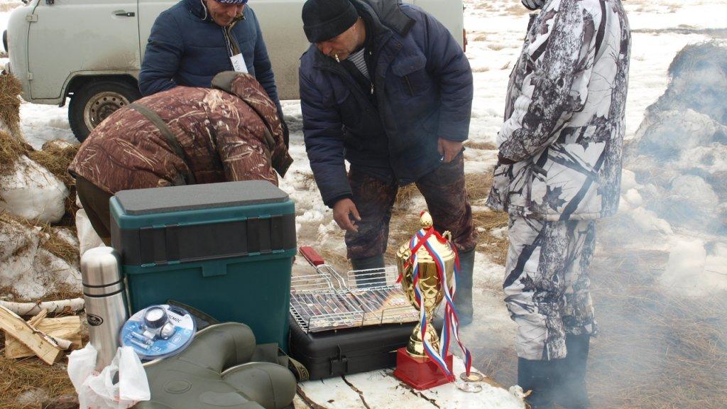 Кто отличился в соревнованиях по подледному лову рыбы на приз Барабинск