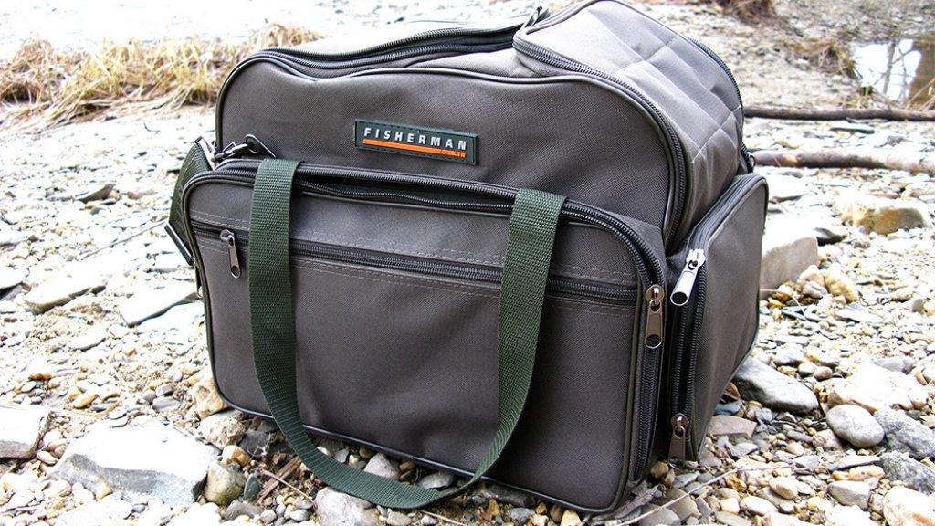 Рыболовная сумка FISHERMAN: все свое ношу с собой!
