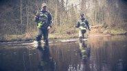 Ловля ручьевой форели. Рыбалка на дикой лесной реке