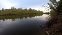 Ждем вечерний выход судака, рыбалка на спиннинг