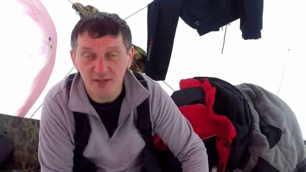 Март 2019 . Чёрные озёра ТО.