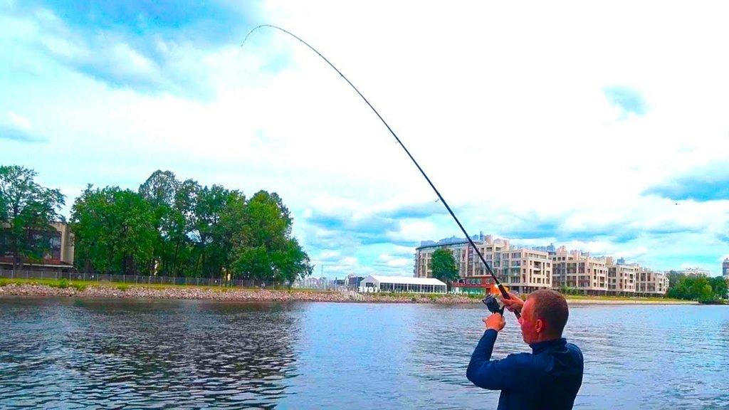 Рыбалка на фидер на Большой Невке