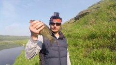 Как искать карася в реке. Походная рыбалка, в поиске карася.