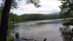 Хотел порыбачить! Священное озеро на алтае!