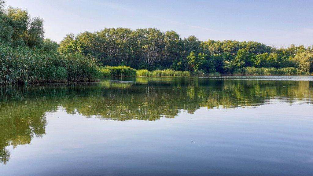 Не летнее озеро