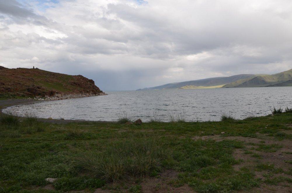 Монголия озеро Толбо