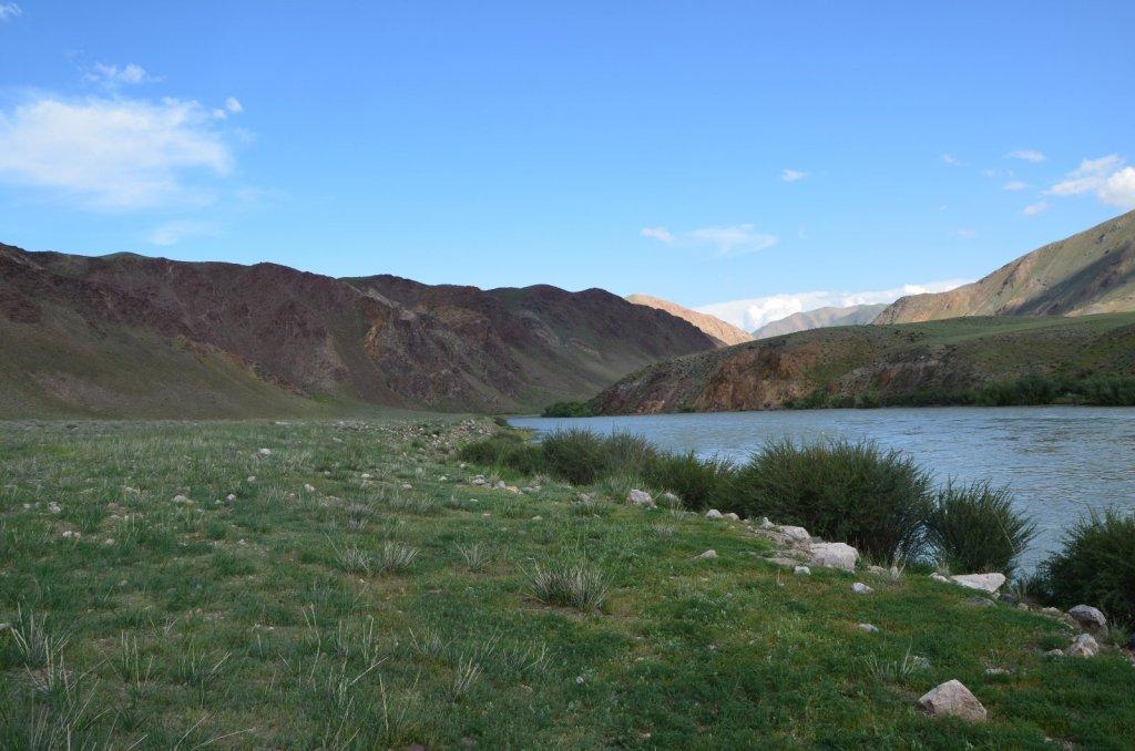 Монголия река Ховд