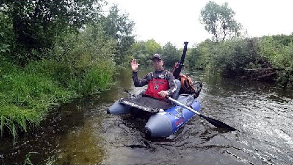 Сплав по реке с ForceAge Ultralight