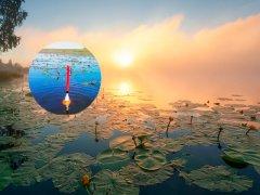 Кайф! Осенний карасик на поплавок холодным туманным утром