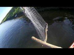 Рыбалка в Томской обл. Обрывы, сходы, ремонт мотора