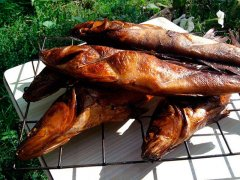 Копчение рыбы на свежем воздухе! Пальчики оближешь