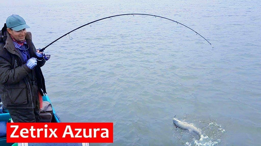 Спиннинг для тяжелого джига Zetrix Azura